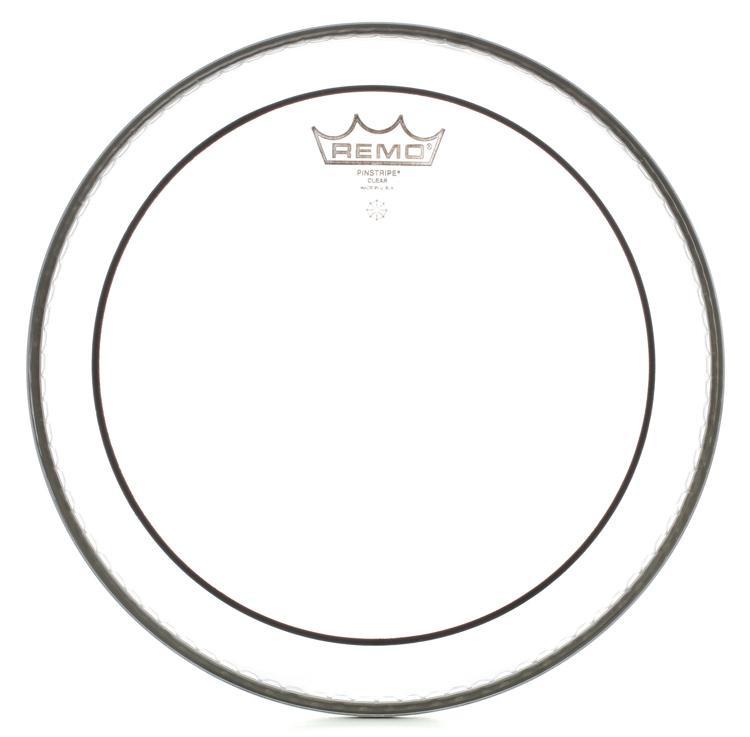 Remo Clear Pinstripe Drum Head - 10