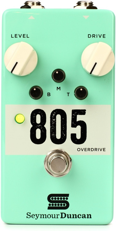 Seymour Duncan 805 Overdrive Pedal image 1