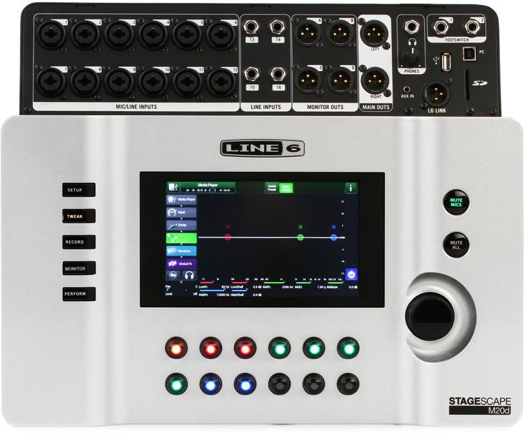 Line 6 StageScape M20d Touchscreen Digital Mixer image 1