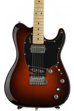 Godin Session Custom TriplePlay, Maple Fingerboard - Lightburst
