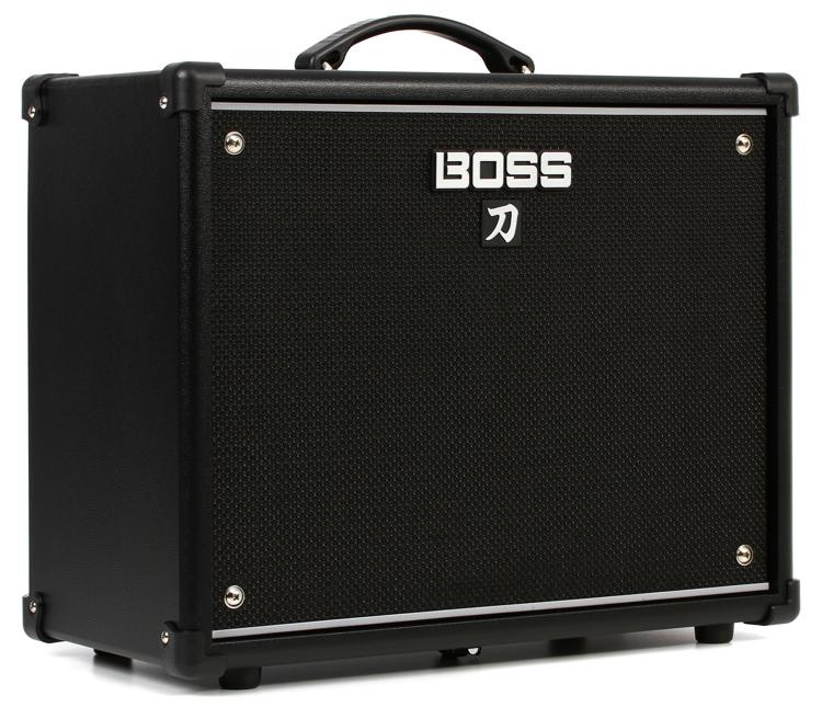 boss katana 50 50 watt 1x12 guitar combo amp sweetwater. Black Bedroom Furniture Sets. Home Design Ideas