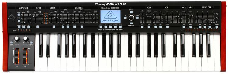Behringer DeepMind 12 49-key 12-voice Analog Synthesizer image 1