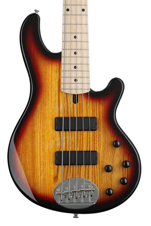 Lakland Skyline 55-01 Standard - 3-Tone Sunburst with Maple Fretboard image 1