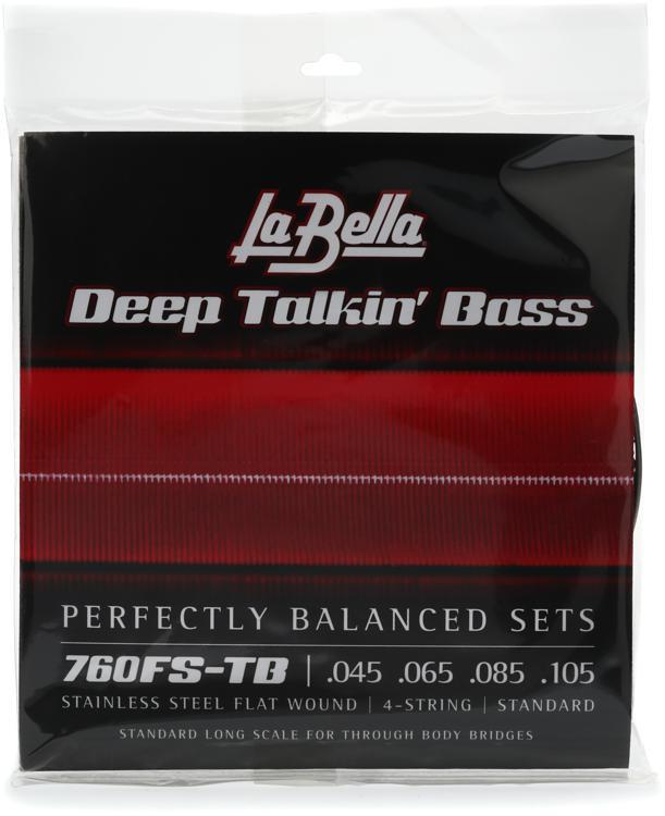 la bella 760fs deep talkin 39 bass flatwound bass strings through body sweetwater. Black Bedroom Furniture Sets. Home Design Ideas