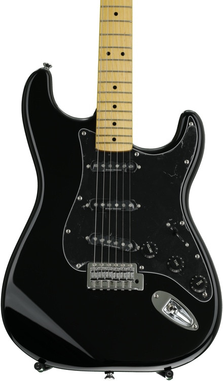 Squier Vintage Modified \'70s Stratocaster - Black image 1