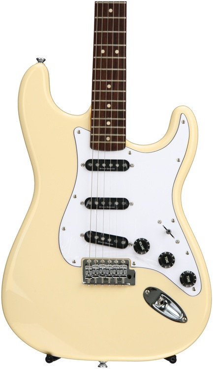 Squier Vintage Modified \'70s Stratocaster - Vintage White image 1