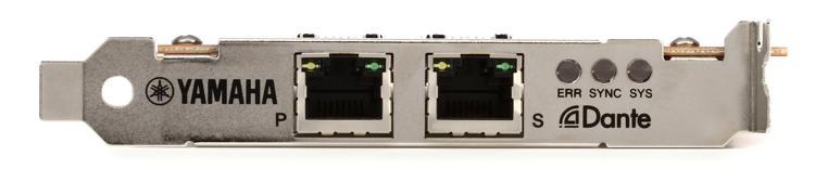 Yamaha aic128d dante accelerator pci express audio for Yamaha dante card