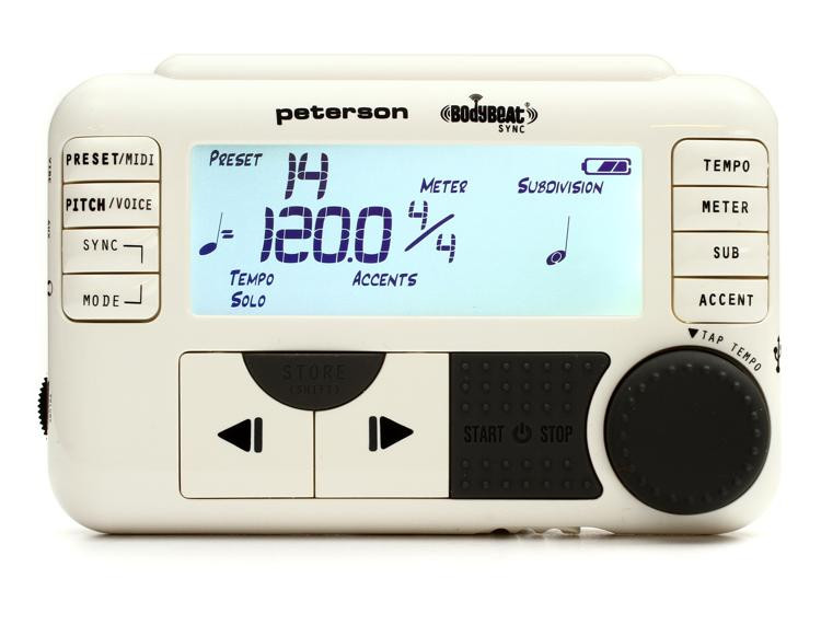 Peterson BodyBeat Sync Wireless Pulsating Metronome image 1