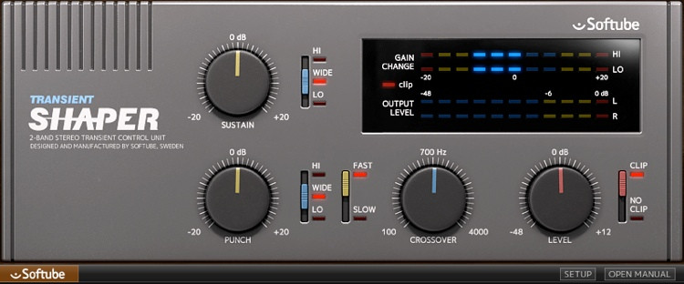Softube Transient Shaper Plug-in image 1