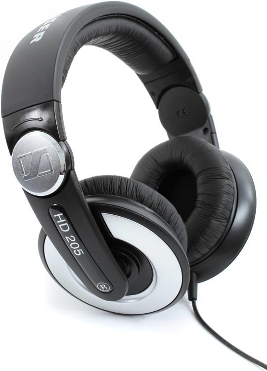 Sennheiser HD 205 Closed-back Headphones with Rotating Ear Cup image 1