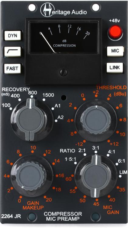 Heritage Audio 2264JR Microphone Preamp & Compressor image 1