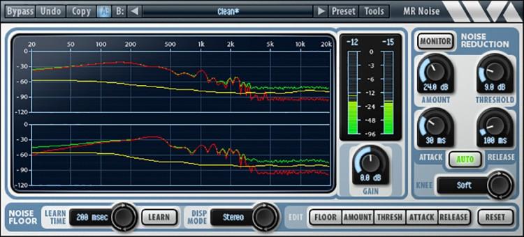WaveArts MR Noise Plug-in image 1