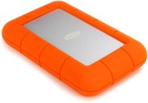 LaCie Rugged USB-C 2TB Portable Hard Drive