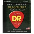 DR Strings DSA-10 Dragon-Skin Phosphor Bronze Lite Coated Acoustic Strings