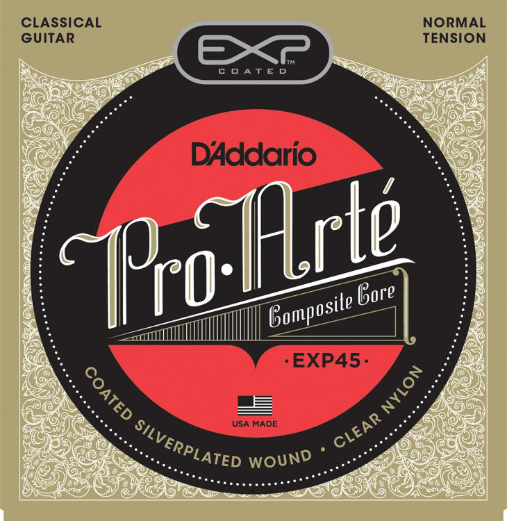 D\'Addario EXP45 Classical Guitar Strings - Normal Tension image 1