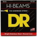 DR Strings MR5-45 Hi-Beam Stainless Steel Medium 5-String Bass Strings