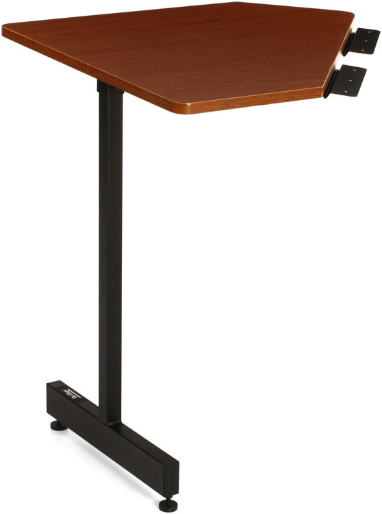 On-Stage Stands WSC7500 Workstation Corner Accessory - Rosewood image 1