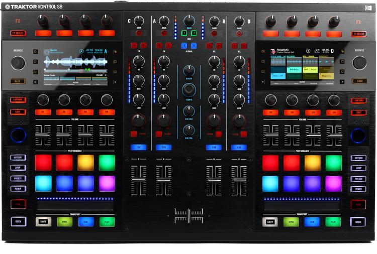 Traktor Kontrol S8 4-channel DJ Controller