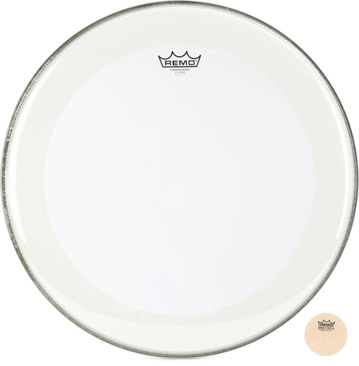 Remo Powerstroke 4 Clear Bass Drumhead - 20