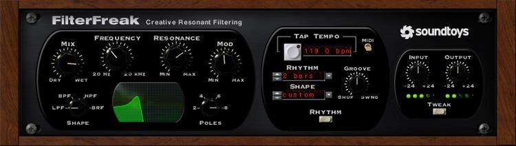 Soundtoys FilterFreak Plug-in image 1
