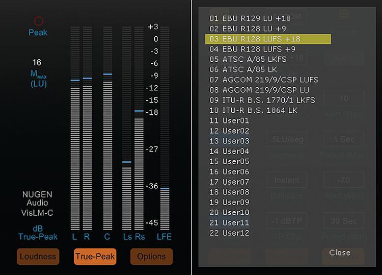 NUGEN Audio VisLM-C Loudness Meter image 1