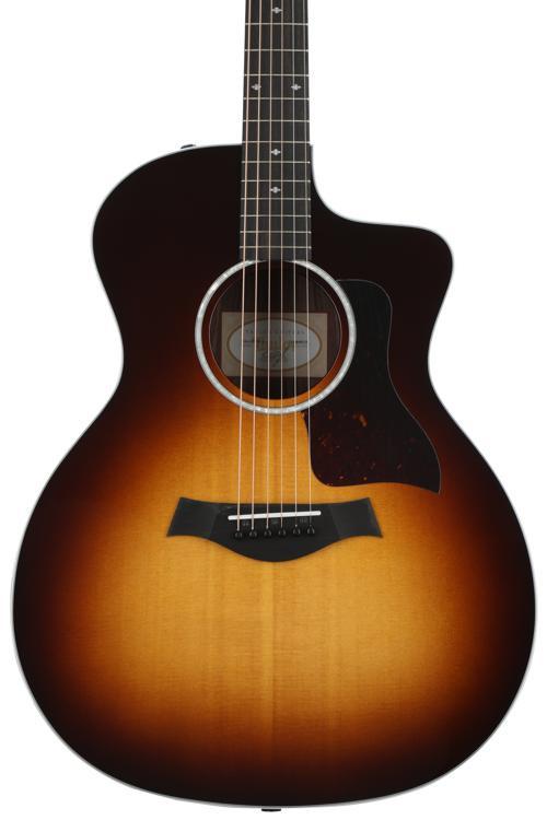 Taylor 214ce DLX - Sunburst, Layered Rosewood back and sides image 1