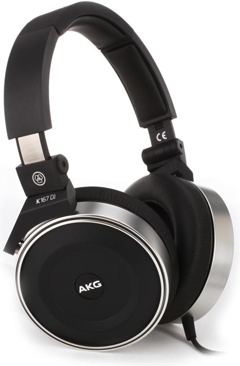 AKG K167 DJ Closed-back On-ear DJ Headphones image 1
