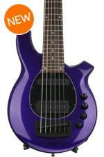 Ernie Ball Music Man Bongo 6 HS - Firemist Purple