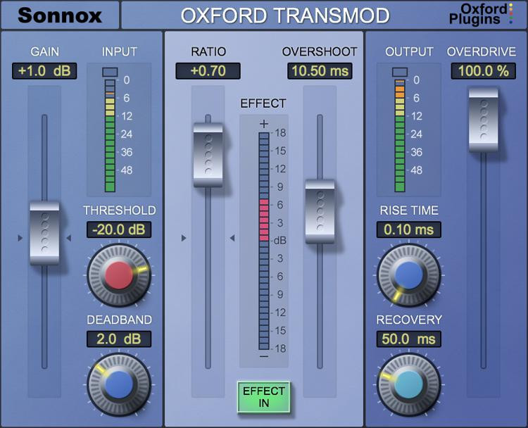 Sonnox Oxford TransMod Plug-in - HD-HDX image 1