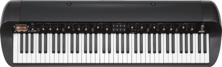 Korg SV-1 73 Stage Vintage Piano - Black image 1