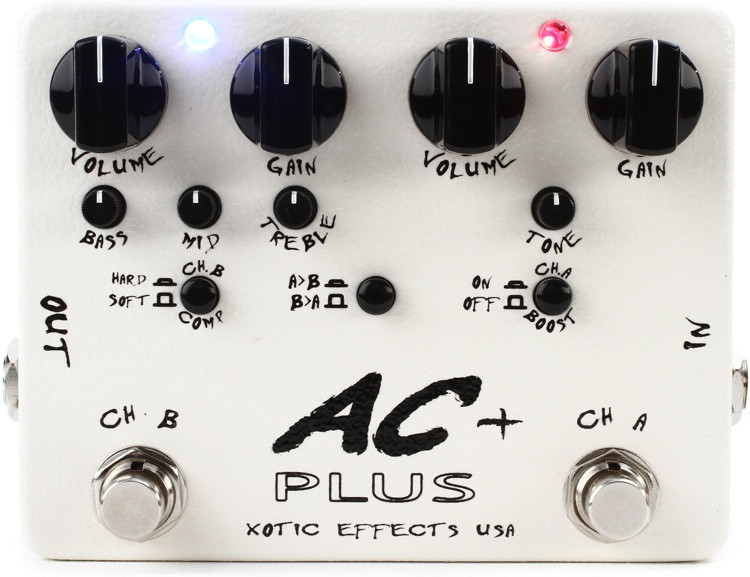 Xotic AC Plus 2-channel Boost/Drive Pedal image 1