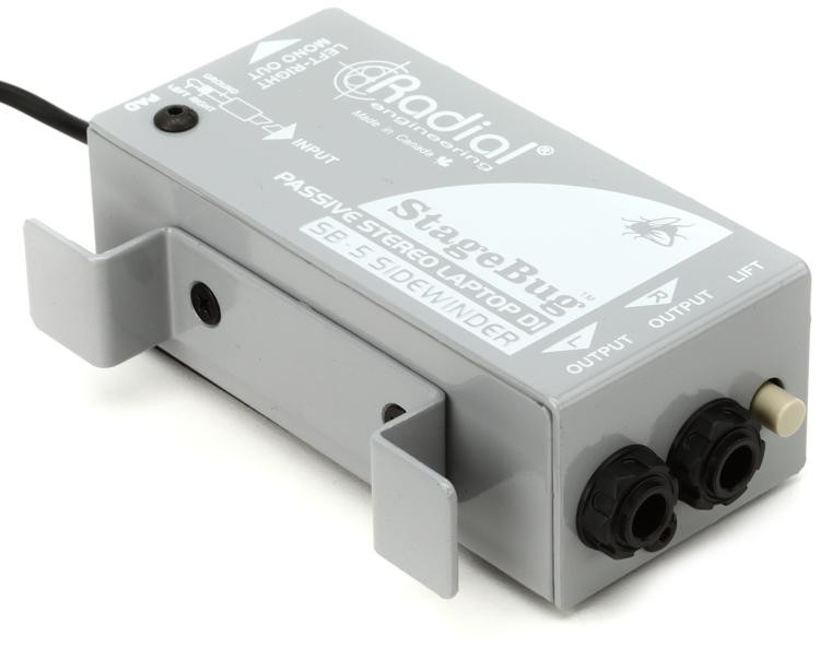 Radial StageBug SB-5 1-channel Passive Laptop Direct Box image 1