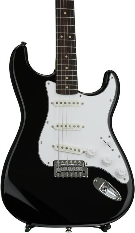 Squier Vintage Modified Stratocaster - Black image 1