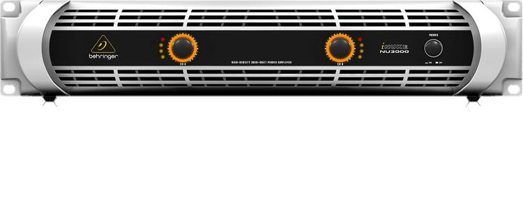 behringer inuke nu3000 power amplifier sweetwater. Black Bedroom Furniture Sets. Home Design Ideas