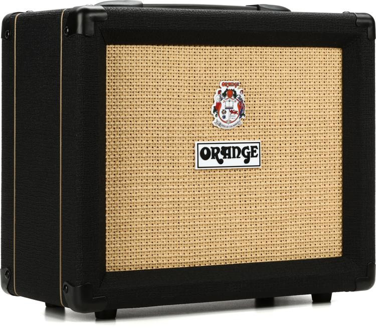 orange crush 20 20 watt 1x8 combo amp black sweetwater. Black Bedroom Furniture Sets. Home Design Ideas
