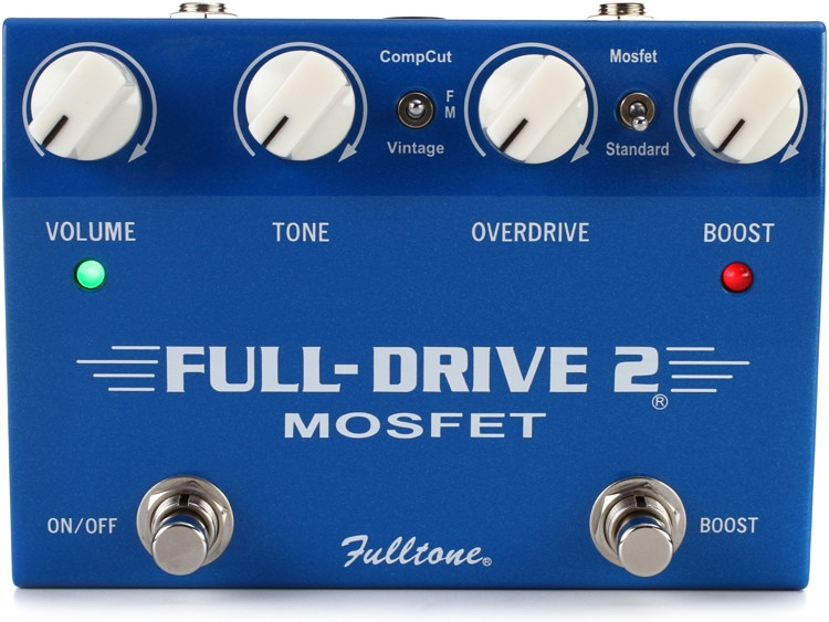 Fulltone Fulldrive2 MOSFET Overdrive / Boost Pedal image 1
