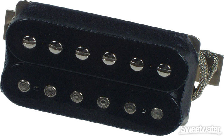 Gibson Accessories Burstbucker Type 3 Pickup - Double Black, Neck or Bridge, 2-Conductor image 1