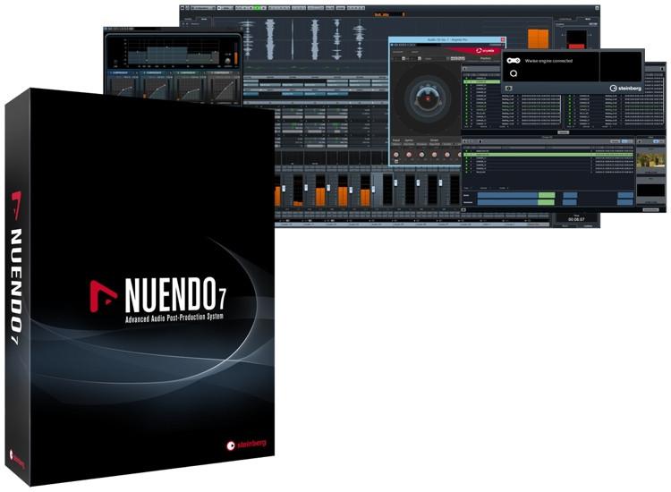 Steinberg Nuendo 7 Upgrade from Nuendo 6 (Boxed) image 1