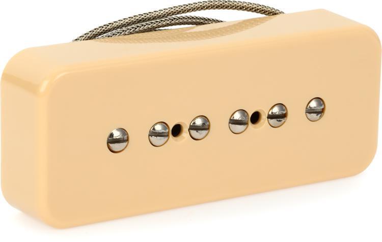 Gibson Accessories P-90 Soapbar Pickup - Creme, Neck or Bridge, 2-Conductor image 1