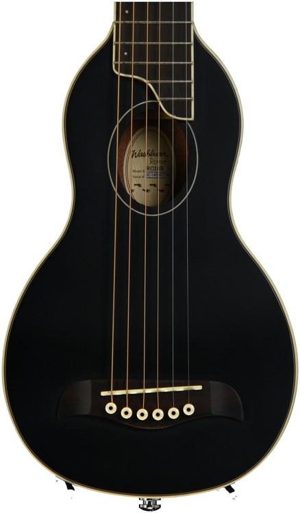 Washburn RO10 Rover Travel Guitar - Black image 1
