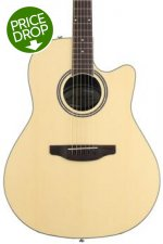 Ovation Applause AB24AII Balladeer, Mid-depth bowl - Natural