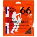 Rotosound RS666LD Swing Bass 66 Stainless Steel Roundwound Long Scale 6-String Bass Strings