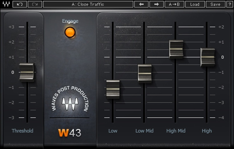 Waves W43 Noise Reduction Plug-in image 1