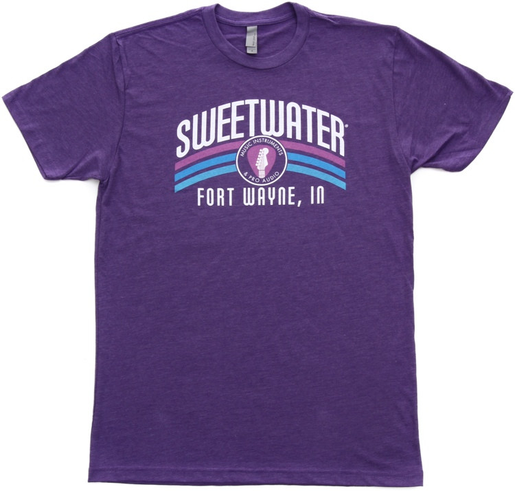 Sweetwater Purple Rainbow T-shirt - Men\'s Fitted XL image 1