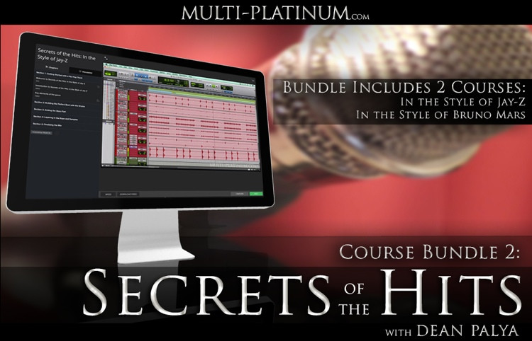 Multi Platinum Secrets of the Hits Bundle 1: In the Style of Bruno Mars and Jay-Z Interactive Courses image 1