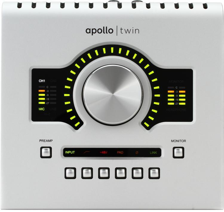 Universal Audio Apollo Twin USB DUO 2x6 USB Audio Interface with UAD DSP image 1