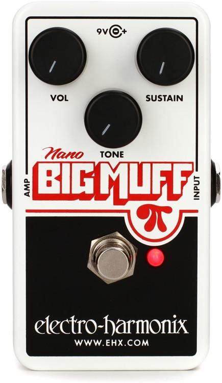 Electro-Harmonix Nano Big Muff Pi Distortion / Fuzz / Overdrive Pedal image 1