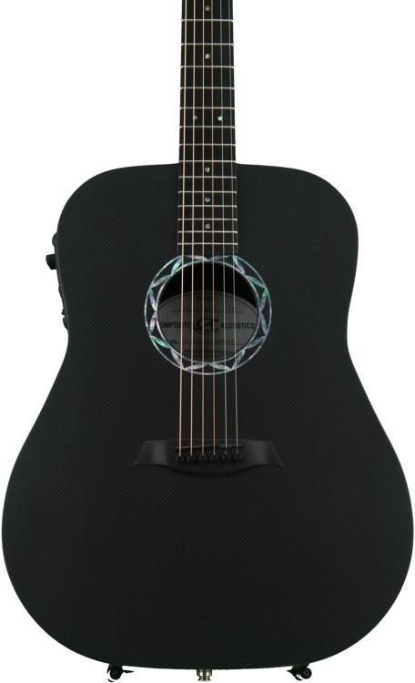 Composite Acoustics Legacy - Raw Carbon Fiber Top, Satin Back image 1