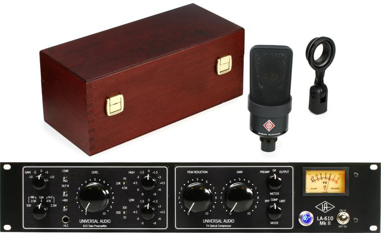 Neumann TLM 103 with Universal Audio LA-610 Mk II image 1