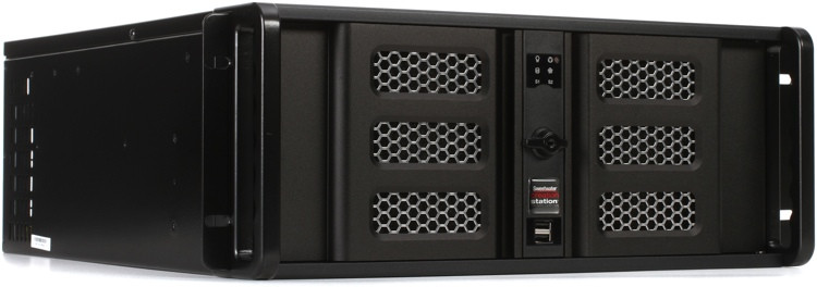 Sweetwater Custom Computing CS400 4u Professional Audio and Video Production Workstation image 1